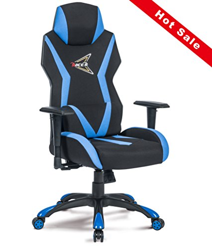 413Sdb0GRiL - High-Back-Video-Game-Computer-Game-Racing-Style-E-sports-Comfortable-Office-Chair