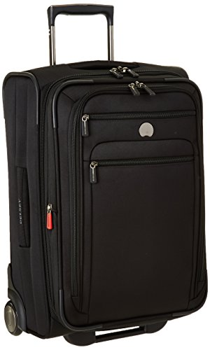 DELSEY Paris Delsey Helium Sky 2.0, Carry On Luggage, Suitcase, Black (Delsey Luggage International)