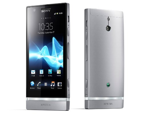 Sony LT22i Xperia P Unlocked Android Smartphone NXT Series with 4-Inch Reality Display, 1Ghz Dual Core, 8MP Camera, 16 GB Memory - International Version/Warranty - Black