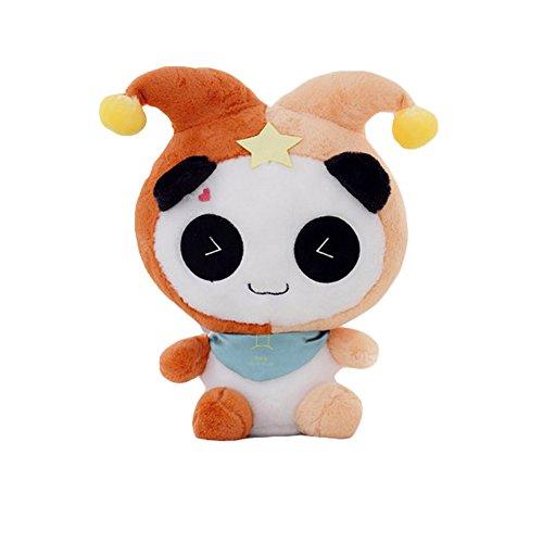 Cute Panda Plush Toy Smile Stuffed Panda Toy Horoscope Panda 16'' (Gemini)