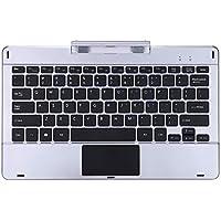 BEESCLOVER Magnetische Tablet Tastatur Externe Tastatur für Jumper Ezpad 6 Pro / 6S Pro Silber