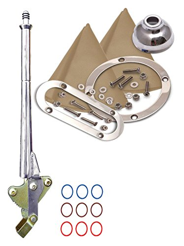 American Shifter 421073 4L80E Shifter 16 E Brake Trim Kit for DB0E8