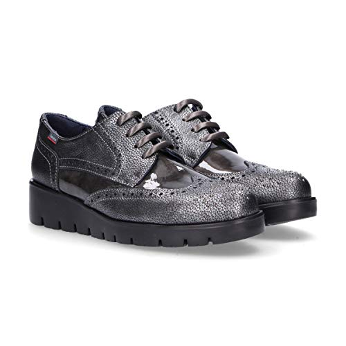 Chaussures À Gris Femme Lacets Cuir Callaghan 89847grey OPxqIwp8PR