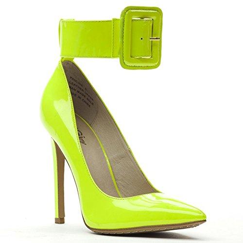 ZIGIny Women#039s Pauline Citron Green 8 M US