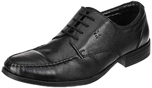 Extacy By Red Chief EXT121 Men's Black Formal Leather Shoes