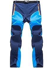 forfar Beautyrain Pantalón de Escalada Pantalones de Senderismo A Prueba de Viento Secado Rápido Térmica para el Campamento de Invierno Hombres Mujeres