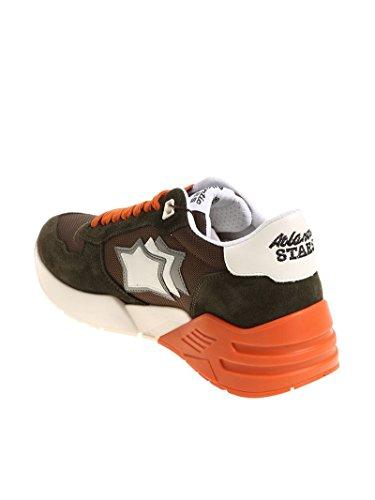 Atlantic Stjerner Mænd Marsmfsn08 Grønne Ruskind Sneakers lWgSkooSL