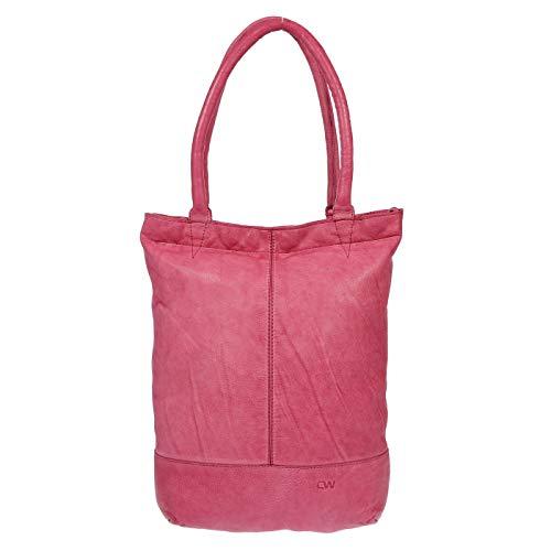 Bolso Christian 33x36x8 Rojo Rojo Rosa para Hombro Mujer al Wippermann cm Zq1wTrq5