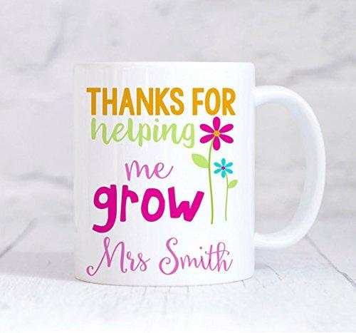 amazon com thanks for helping me grow mug teacher mug teacher