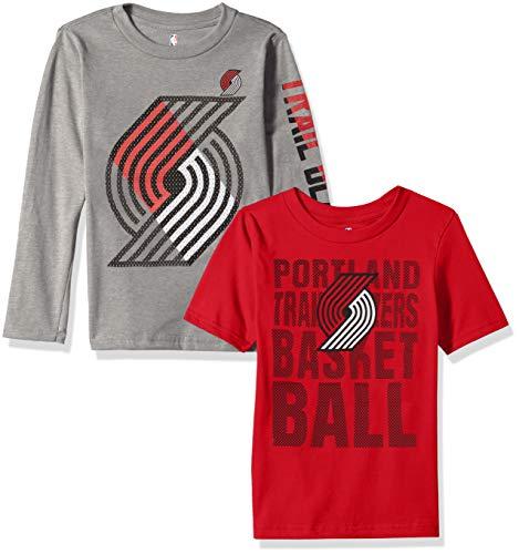 0b7157083 Outerstuff NBA NBA Kids   Youth Boys Portland Trail Blazers Short Sleeve    Long Sleeve Combo
