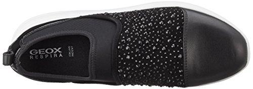 Blackc9999 Mujer Zapatillas Geox B para Ophira Negro D Rqw0fAZ8