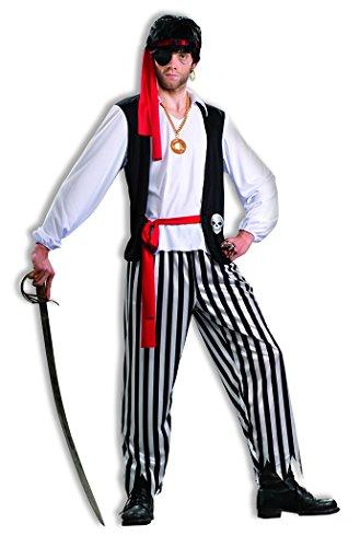Forum Novelties Men's Pirate Matey Costume, Multi,