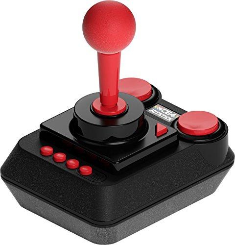The C64 Mini Console Videogames Deep Silver (EU IMPORT) + 1 Joystick + 64 Games Pre-Installed by Retro Games Ltd (Image #4)