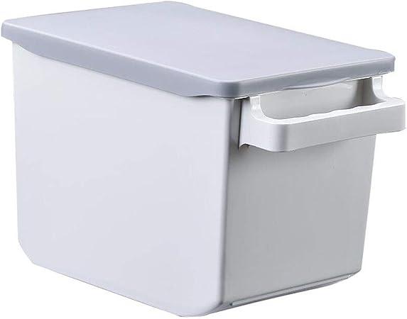 PENGJIE Cocina Caja de Almacenamiento de Granos Caja de Almacenamiento de arroz Plástico con Taza medidora con Mango Multifunción Barril de arroz: Amazon.es: Hogar