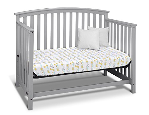 Graco Freeport 4 In 1 Convertible Crib Pebble Gray Baby