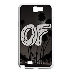 Odd Future Samsung Galaxy Note 2 7100 White Cell Phone Case TAL857403 Clear Cell Phone Case