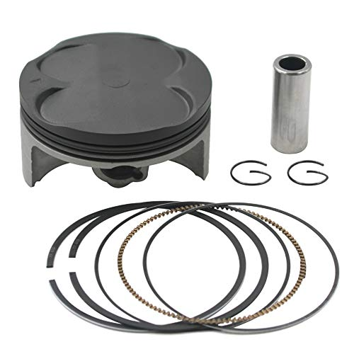 Almencla Engine Rebuild Piston Ring Assembly For Motorcycle Scooter Yamaha PW80 PW 80