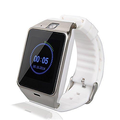Idroidnation White Id-w9 Aplus Gv18 Bluetooth Smart Watch Phone 1.55