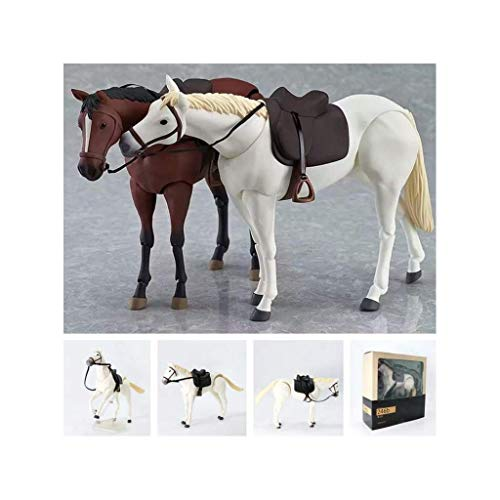 Luxury & Trendy Red Day Redempion Game 16cm Simulation Animal Movable Horses Action Figure Toys Figma 246 Model Decoration Toys for Children Two Colors -