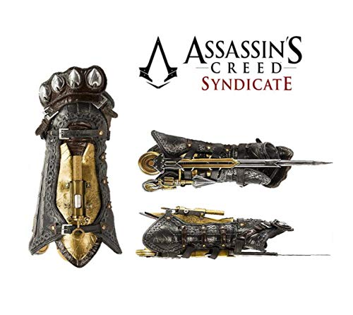 Acrim Toys Assassins Creed Syndicate Hidden Blade Gauntlet Cosplay Replica Halloween Play Game Gift