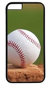 A Baseball On The Pitchers Mound DIY Hard Shell Black Best Fashion iphone 6 plus Case