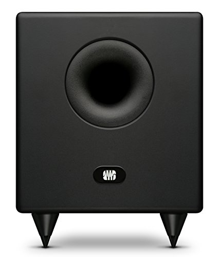 Adam Audio Sub8 Powered Studio Subwoofer Black 9