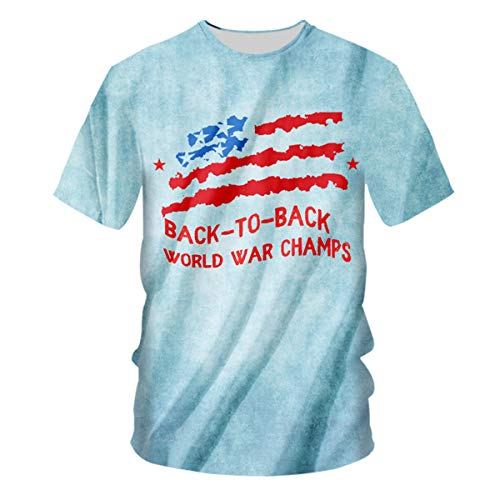 pinata Plus Size Graphic Back to Back World war Champs Mens Shirts 3D Printed]()