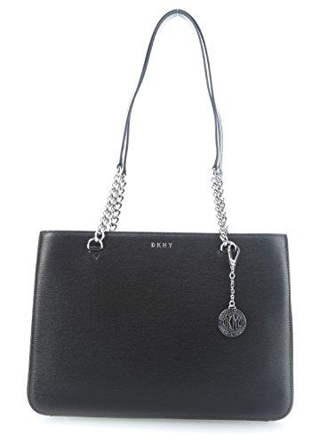 DKNY Bryant Handtasche schwarz/silber