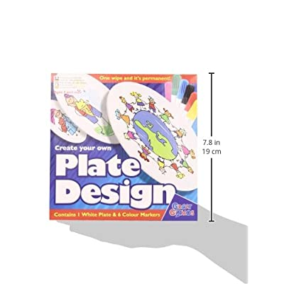 Create Your Own Plate Design with Pens: Toys & Games