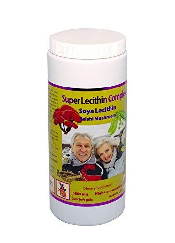 Super Lecithin Complex (200 Capsules)