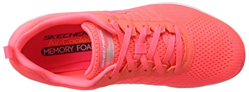 Skechers Fashion Sneaker Women's Flex 0 2 Appeal Crl rwraXq7A