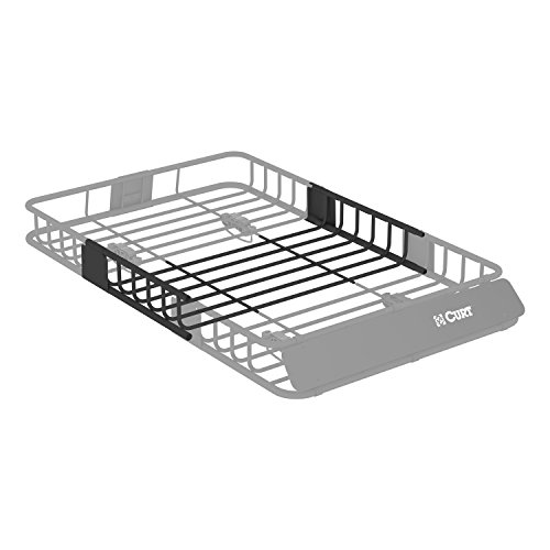 Roof Rack Cargo Carrier Storage - Curt Manufacturing CURT 18117 Roof Rack Cargo Carrier Extension