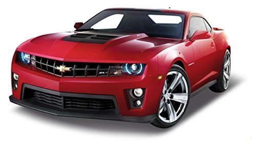 Chevrolet Camaro ZL1 Red 1/24 by Welly 24042 by Welly - Plain Wellies