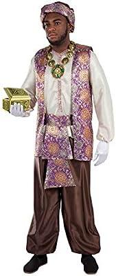 Fycar Disfraz de PAJE Real de Baltasar para Hombre: Amazon.es ...