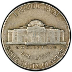 1940 Jefferson Nickel -- Very Fine Condition ()