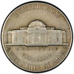 1940 Jefferson Nickel - 1940 Jefferson Nickel -- Very Fine Condition
