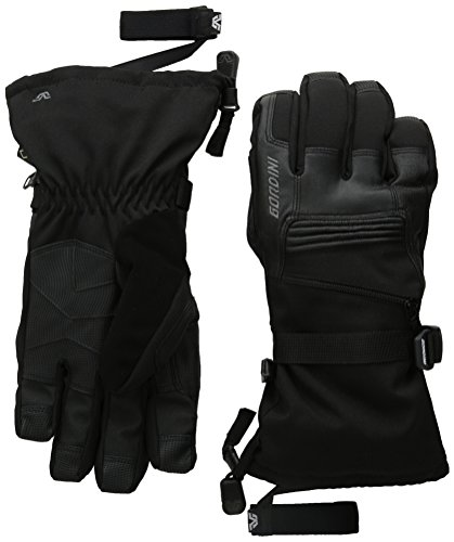 Gordini Men's Men's Gore-tex Storm Trooper Ii Waterproof Insulated Gloves, Black, X-Large