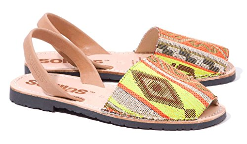 By Sandals Weave Menorcan Artistica Tribal Solillas qI6Zn