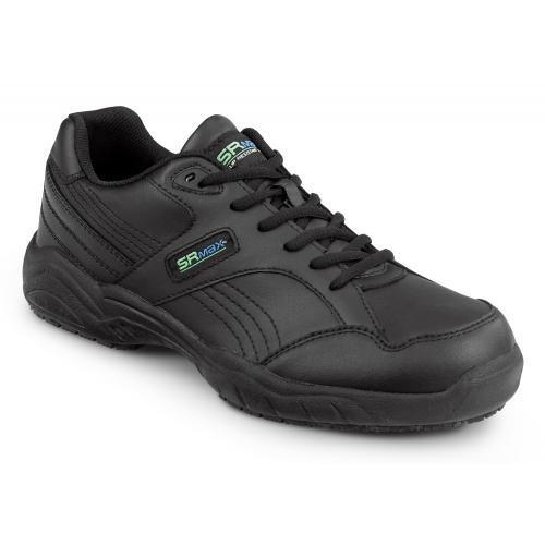 SR Max Dover Women's Black Slip Resistant Sneaker – 8 EW