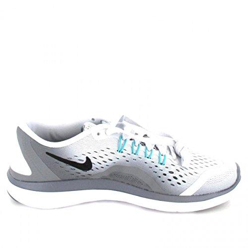 Nike Damen Flex 2017 Rn Laufschuhe Grau (platino Puro / Chiara Giada-cool Nero Grigio)
