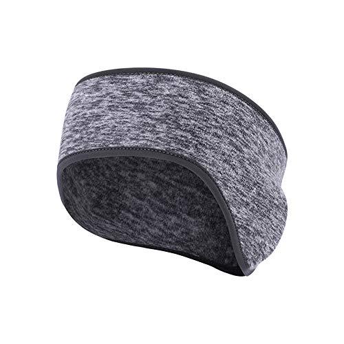 TOWSIX Fleece Ear Warmer Headband, Thermal Ear Muffs for Men & Women & Teens Winter Ear Cover Head Warmers Perfect for Running, Skiing, Hiking, Riding Motorcycle, Wortout, Skiing, Cycling... ()