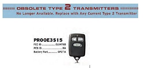 Model Prooe3s15 Replacement Remote Transmitter Voxx