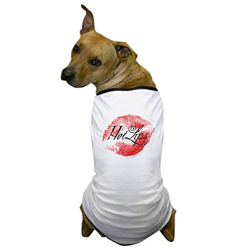 Smoochy Costume (CafePress - Smoochies - Hot Lips Dog T-Shirt - Dog T-Shirt, Pet Clothing, Funny Dog Costume)