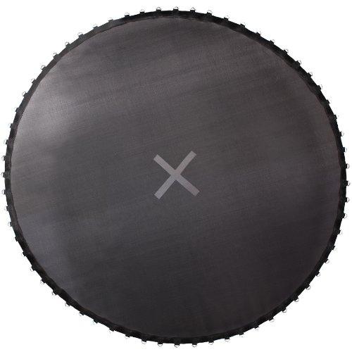 Ultrasport Trampolinsprungtuch für Gartentrampolin Ultrasport Jumper Wave in schwarz, 366 cm