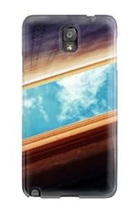 CaseyKBrown Galaxy Note 3 Hybrid Case Cover Silicon Bumper Sky Snap Shot