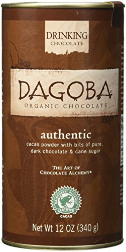 Hot Chocolate Chocolate Organic (Dagoba Authentic Hot Chocolate, 12 Ounce)