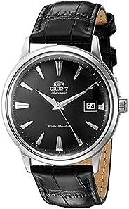 Orient Bambino 2da generación Versión I - Reloj de vestir automático, japonés, acero inoxidable y cuero