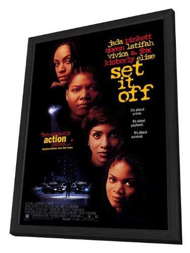 Set It Off - 27 x 40 Framed Movie Poster