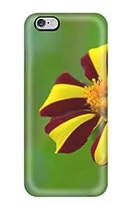 Iphone 6 Plus Hybrid Tpu Case Cover Silicon Bumper Flower