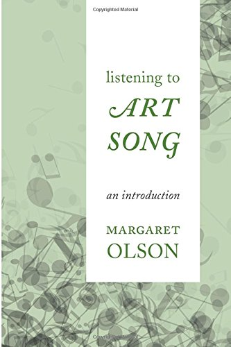 Listening to Art Song: An Introduction pdf